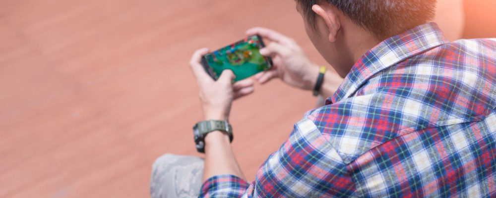 The,Abstract,Image,Of,The,Asian,Gamer,Playing,Video,Game